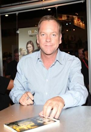 Kiefer Sutherland is making his return to TV this spring.