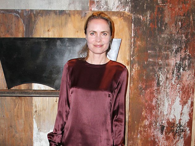 Radha Mitchell at Levi's 501 140 year Anniversary Party held at Ace Museum on February 8, 2013 in Los Angeles, California.