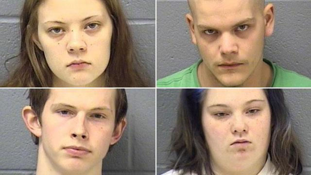 3 Teens, Adult Charged in Strangulations