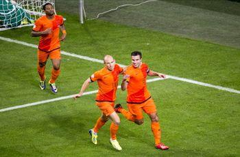 Van Persie & Robben in Netherlands squad to face Japan & Colombia