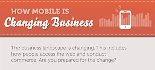 How is Mobile Changing Business? [Infographic] image how mobile is changing business1