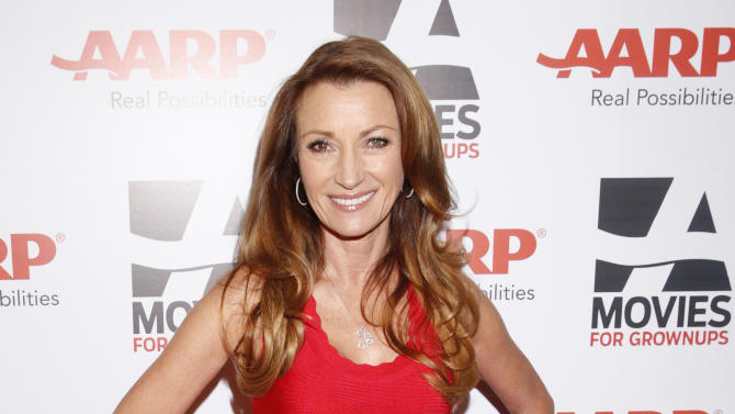 Jane Seymor attends AARP The Magazine's 12th Annual Movies for Grownups Awards at The Peninsula Hotel on February 12, 2013 in Beverly Hills, California. (Photo by Todd Williamson/Invision for AARP Magazine/AP Images)