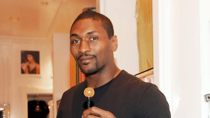 Ron Artest Sugar Factory Las Vegas