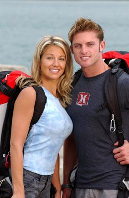 Dating long distance couple Kris and Jon CBS' The Amazing Race 6