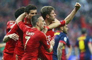 Muller: Beating Barcelona like this is just brilliant