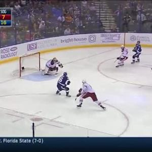 Nikita Kucherov Goal on Mike Smith (03:20/2nd)