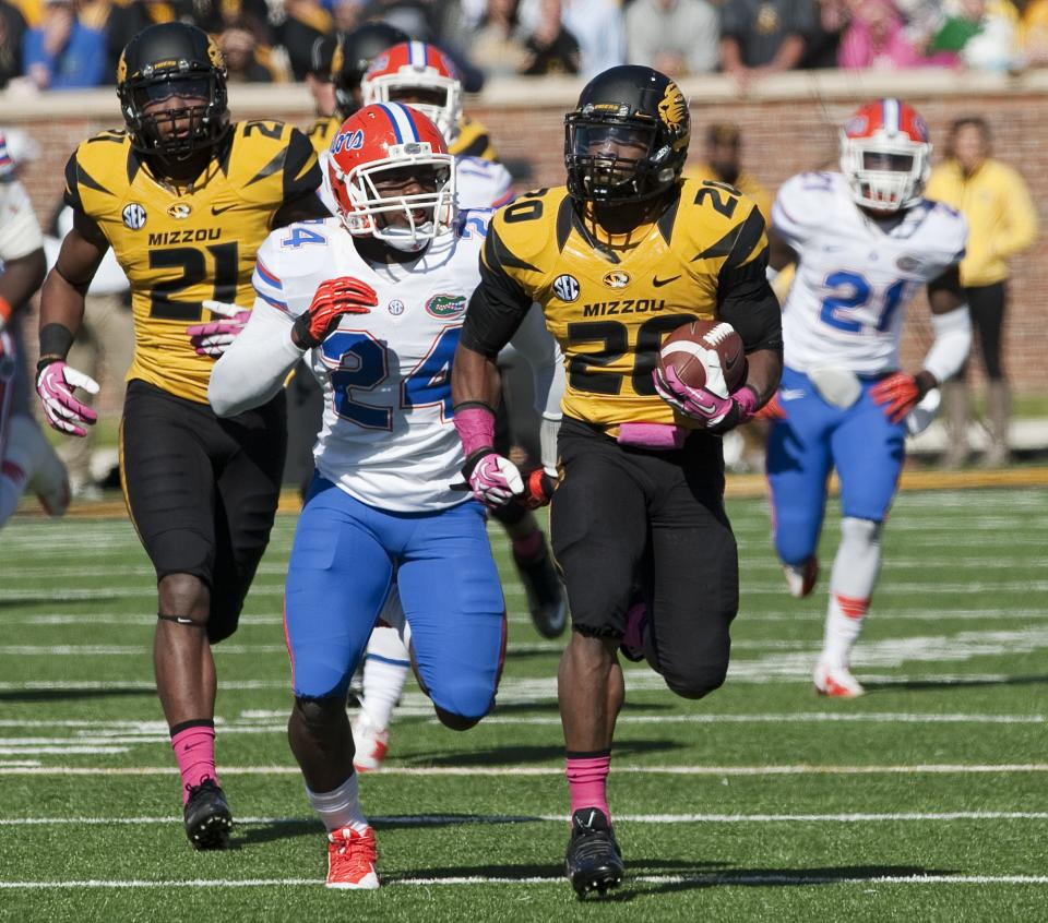 RB Josey back to helping No. 5 Missouri
