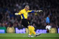 I am not Barcelona's undisputed No.1 goalkeeper, claims Valdes