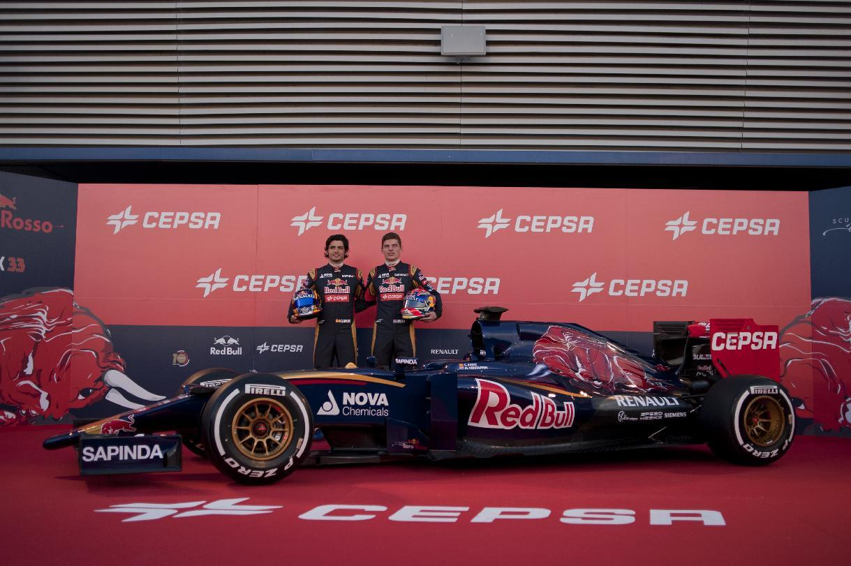 Toro Rosso launch with youngest drivers
