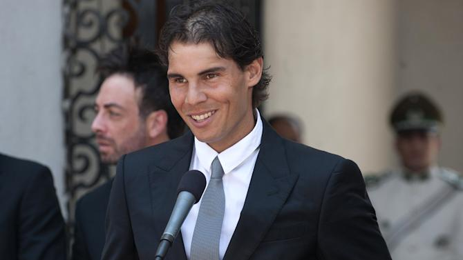 CHILE-TENNIS-NADAL