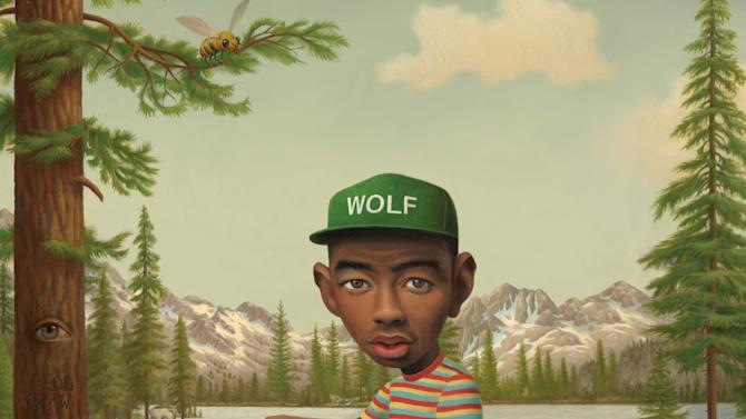 "This CD cover image released by Columbia shows ""Wolf,"" by Tyler, the Creator. (AP Photo/Columbia)"
