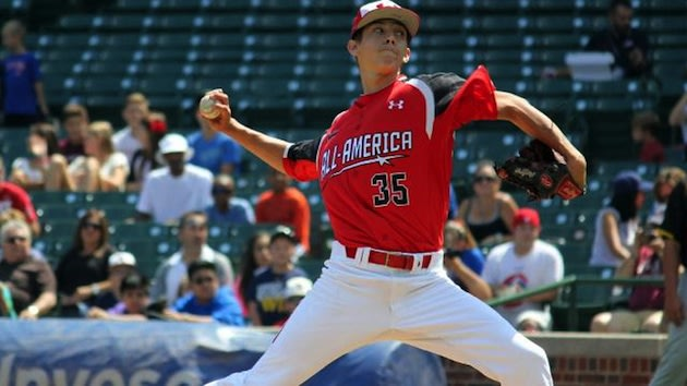 Orioles first round pick Hunter Harvey has made it very clear he's going to sign — Under Armour All-America Game