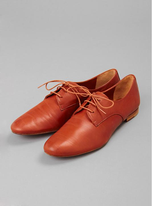 Soft Leather Oxfords