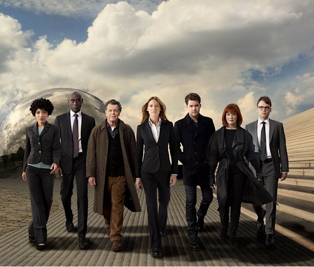 "The cast of ""Fringe."""