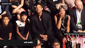 Will Smith, Jaden and Willow React to Lady Gaga, Not Miley Cyrus at VMAs: Hilarious Picture