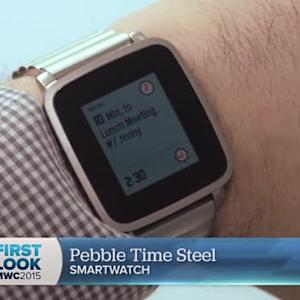 Pebble Time Steel is real, all steel, arriving in July