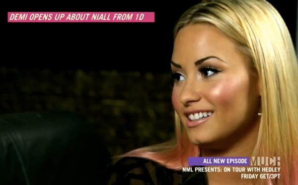 Demi Lovato Reveals One Directioner Niall Horan Is Her 'Close Friend'