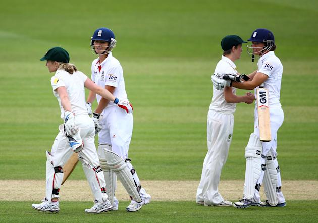 England Women v Australia Women: Women's Ashes Series - Day Four