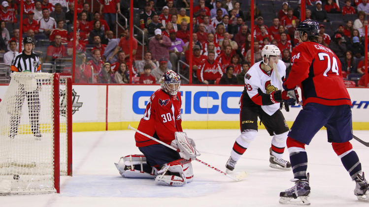 NHL: Ottawa Senators at Washington Capitals
