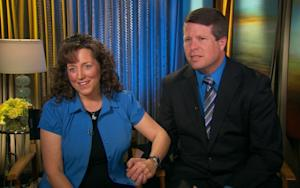 Michelle and Jim Bob Duggar stop by Access Hollywood on February 13, 2012 -- Access Hollywood