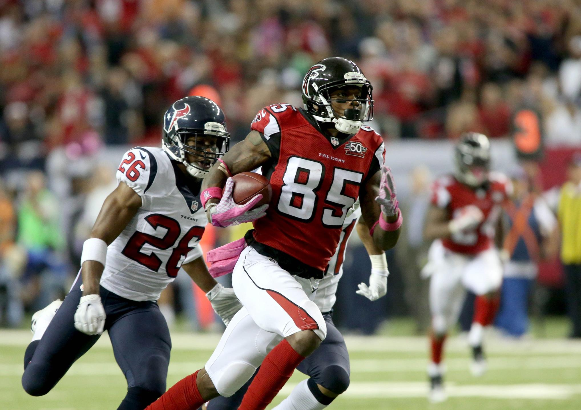 Former Redskins WR Hankerson off to 'great start' with Falcons