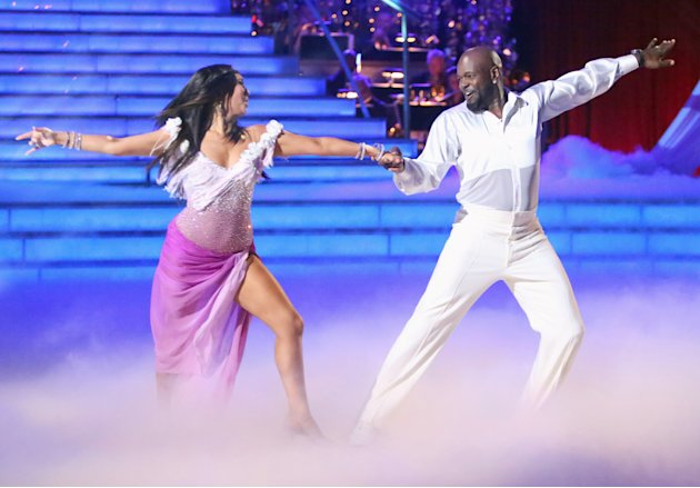 Cheryl Burke and Emmitt Smith (10/15/12)