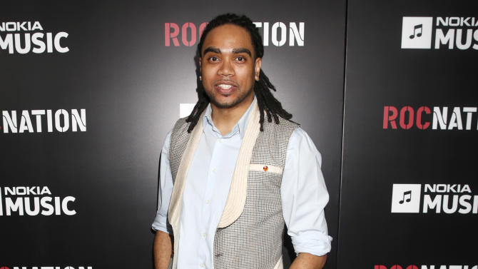 Jon Bibbs arrives at Roc Nation's Pre-Grammy Brunch at the Soho House on Saturday, Feb. 9, 2013 in Los Angeles. (Photo by Todd Williamson/Invision/AP)