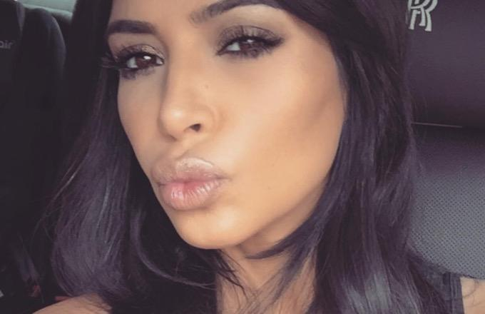 Kim Kardashian Made a Valentine's Day Playlist for All the Lonely Hearts Out There
