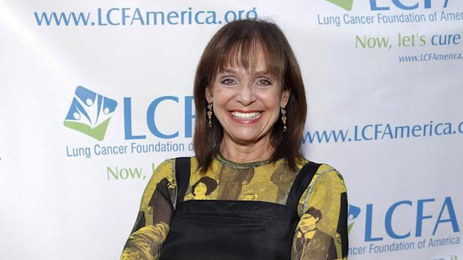 "FILE - In this Sunday, Sept. 29, 2013, file photo, Valerie Harper attends the ""Lung Cancer: Bring On The Change!"" event in Los Angeles. Performer Brenda Vaccaro will replace Harper in a play in Maine as Harper recovers from an illness and brief hospitalization, the Ogunquit Playhouse said in a release Saturday night, Aug. 1, 2015. (Photo by Todd Williamson/Invision/AP, File)"