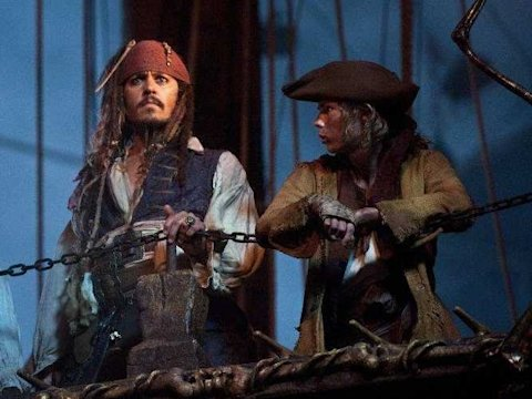 pirates of the caribbean johnny depp