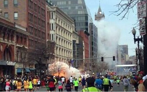 Photos Explosion At Boston Marathon, 2 Dead and Over 50 Injured