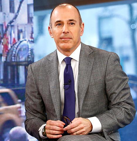 "Matt Lauer Nixed Potential Female Today Show Runners, Compared Them to ""Lilith Fair"""