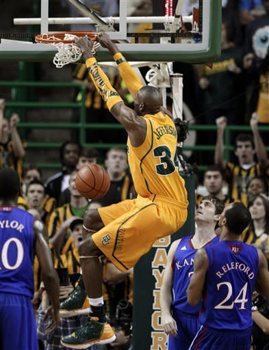 Withey's 25 leads No. 7 Kansas over No. 6 Baylor