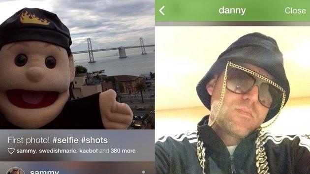 Bieber-funded Shots of Me is the most selfie-centered social network