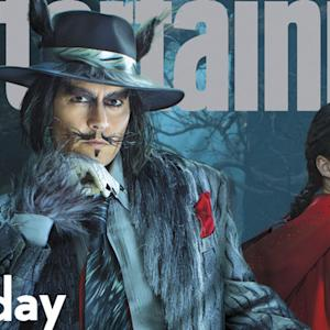 Johnny Depp Gets Big & Bad for 'Entertainment Weekly' Cover