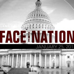 Open: This is Face the Nation, January 25