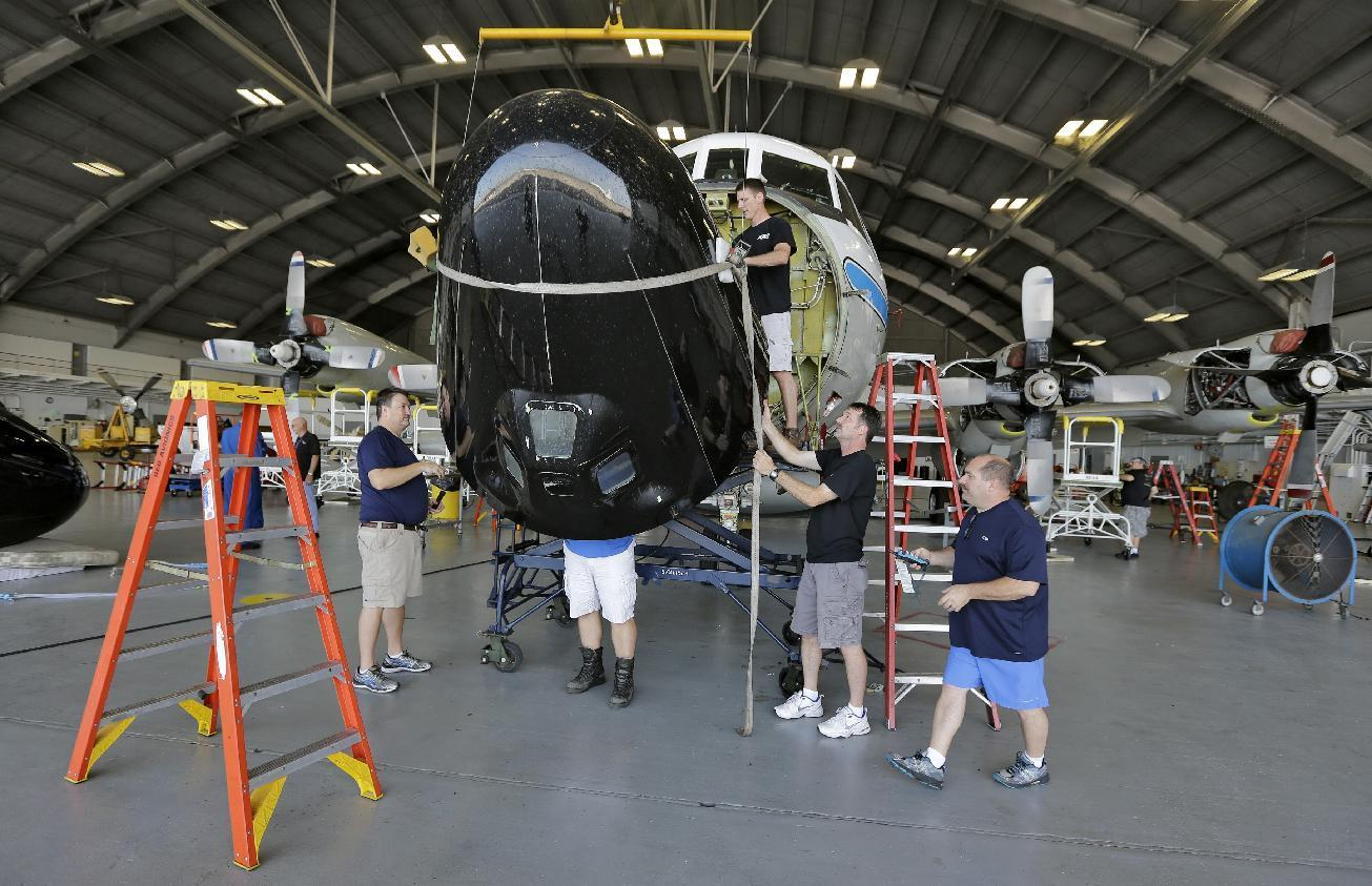 $42 million 'nose-to-tail' upgrade for 2 hurricane hunters