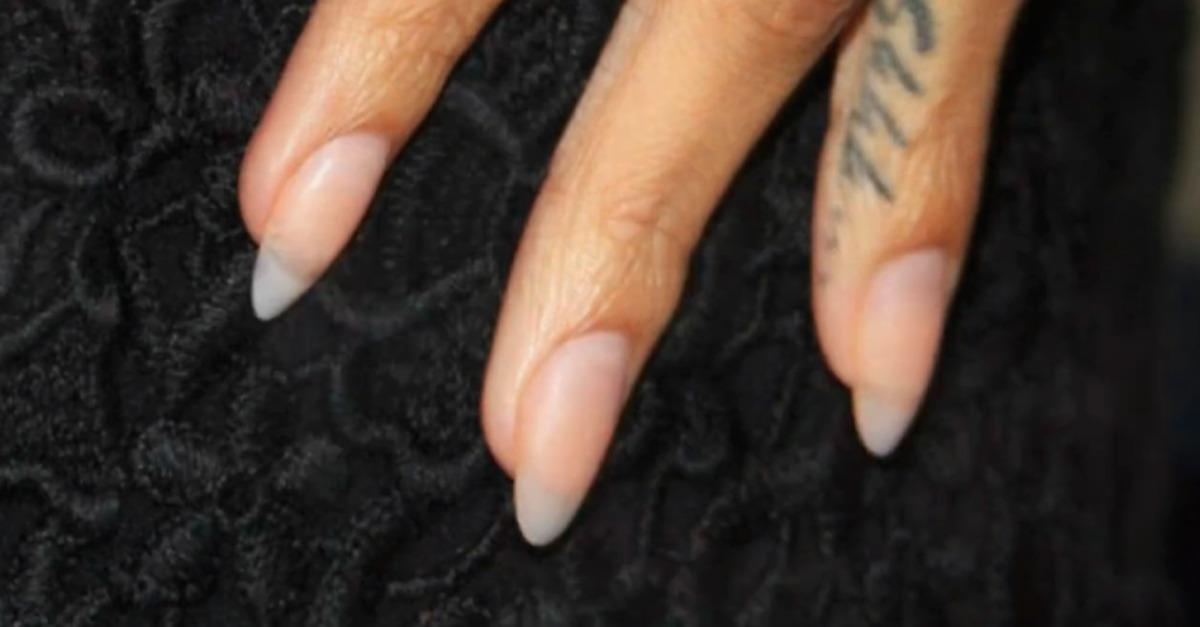 Go Naked (in nails) Like Rihanna