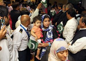 FILE - In this Monday, March 30, 2015 file photo, Pakistani…