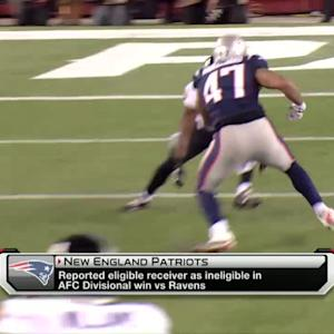Blandino breaks down Patriots' legal formation