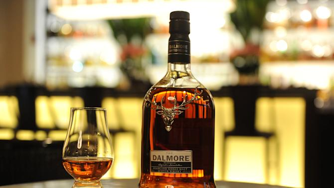 IMAGE DISTRIBUTED FOR THE DALMORE - The Dalmore Selected By Daniel Boulud is photographed at the bar of DANIEL, Monday, April 22, 2013, in New York, and is now available at: DANIEL, CafÈ Boulud, Boulud Sud, db Bistro Moderne, Bar Boulud and DBGB Kitchen & Bar.  (Photo by Diane Bondareff/Invision for The Dalmore/AP Images)