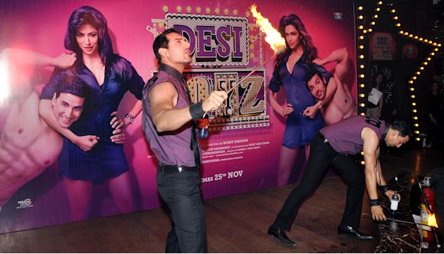 John-Akki set the stage on fire, almost