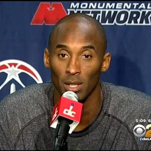 Kobe Bryant Discusses His New Contract