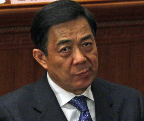 FILE - In this March 9, 2012 file photo, Chongqing party secretary Bo Xilai reacts during a plenary session of the National People&#39;s Congress held in Beijing, China. With the disgraced politician expelled from the party and facing prosecution on a slew of charges, Chinas ruling communists can finally focus on the crucial task of ensuring a smooth transition to a new generation of leaders. (AP Photo/Ng Han Guan, File)