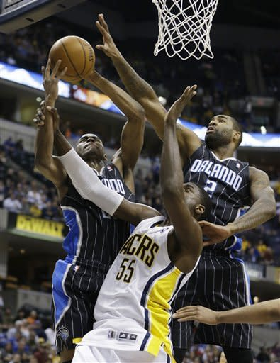 Pacers pull away to beat struggling Magic 95-73