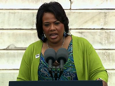 MLK's Daughter Echoes Father's Words