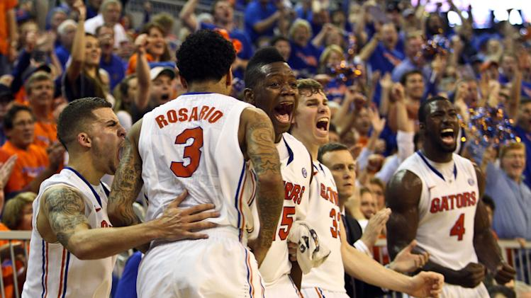 NCAA Basketball: Missouri at Florida