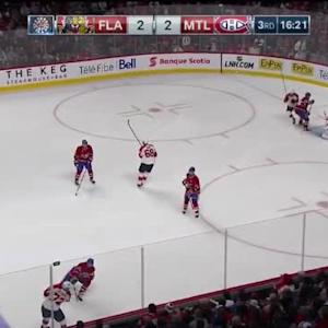 Carey Price Save on Alex Petrovic (03:40/3rd)