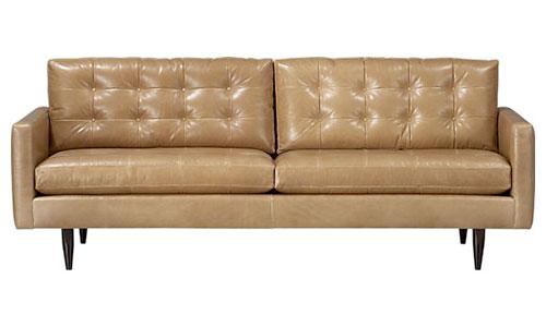 Petrie Leather Sofa, $3999