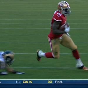 San Francisco 49ers tight end Vernon Davis 17-yard TD catch